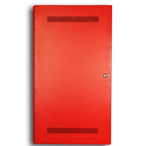 Distributed Panel, Dual Channel, 100W, Fire Phone, Red, 120VAC