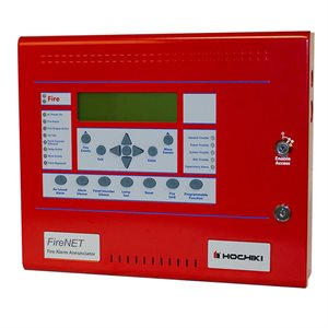 FN-LCD-N-R - Network Annunciator, Red