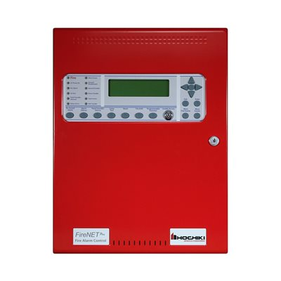 FireNET® Plus Intelligent Addressable, 1 Loop, dialer, Red, 120V