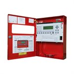 FireNET Plus® Intelligent Addressable, 1 Loop, dialer, Expandable, Red, 120V