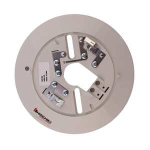 """HSC-224L - Conventional Detector Base with LED, 2-Wire, 6"""", 24VDC"""