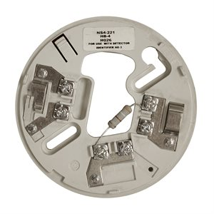 """NS4-221 Conventional Detector Base, 390 Ohms, 4"""""""