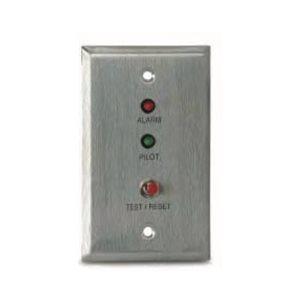 MS-RA/P/R Remote Alarm LED, Pilot LED and Push Button Test/Retest Switch