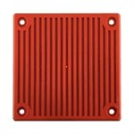 Weatherproof 24VDC Horn, Surface, Red (WBB Backbox Required)