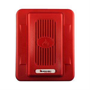 HEH24-WR - Horn 24VDC, Wall Mount, Red