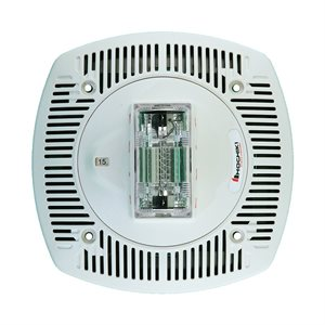HSSPK24-CLPW - Speaker Strobe 24VDC, Multi Candela, Ceiling Mount, White