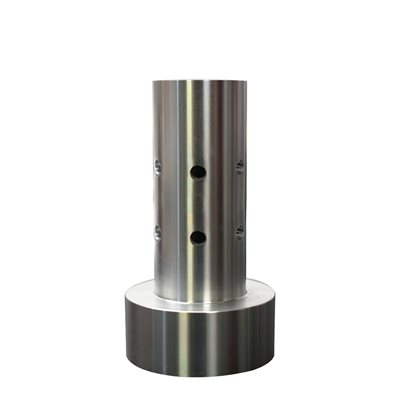 """1/2"""" 180 Stainless Sidewall Stainless Discharge Nozzle"""