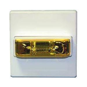 Amber Lens 24VDC, Selectable Candela, Ceiling/Wall Mount, Strobe