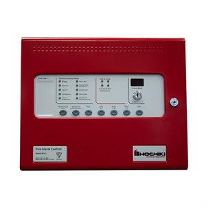 HCV-2 / 230V 2 Zone Conventional FACP, Red, 230V